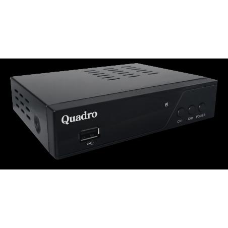 Quadro Prijemnik zemaljski DT-265H, DVB-T2 HEVC, Full HD, USB PVR